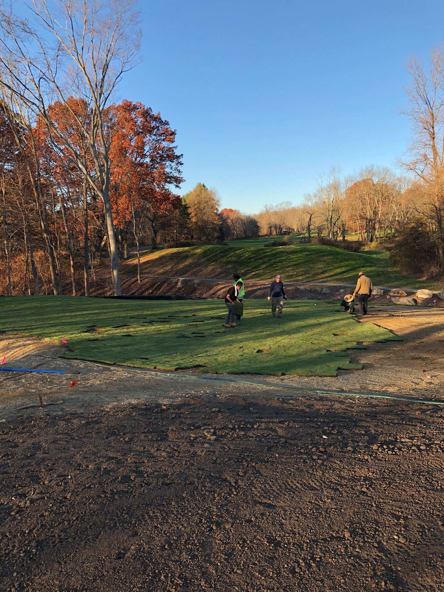 New greens and tee boxes, Westchester County