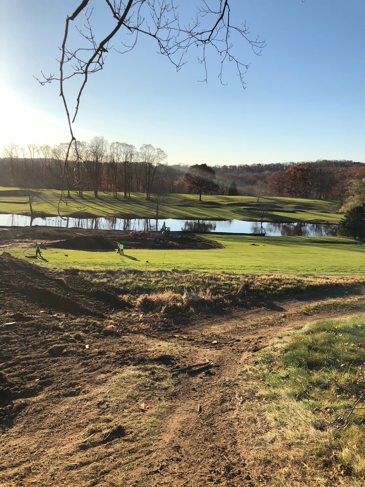 Renovated country club in Westchester County