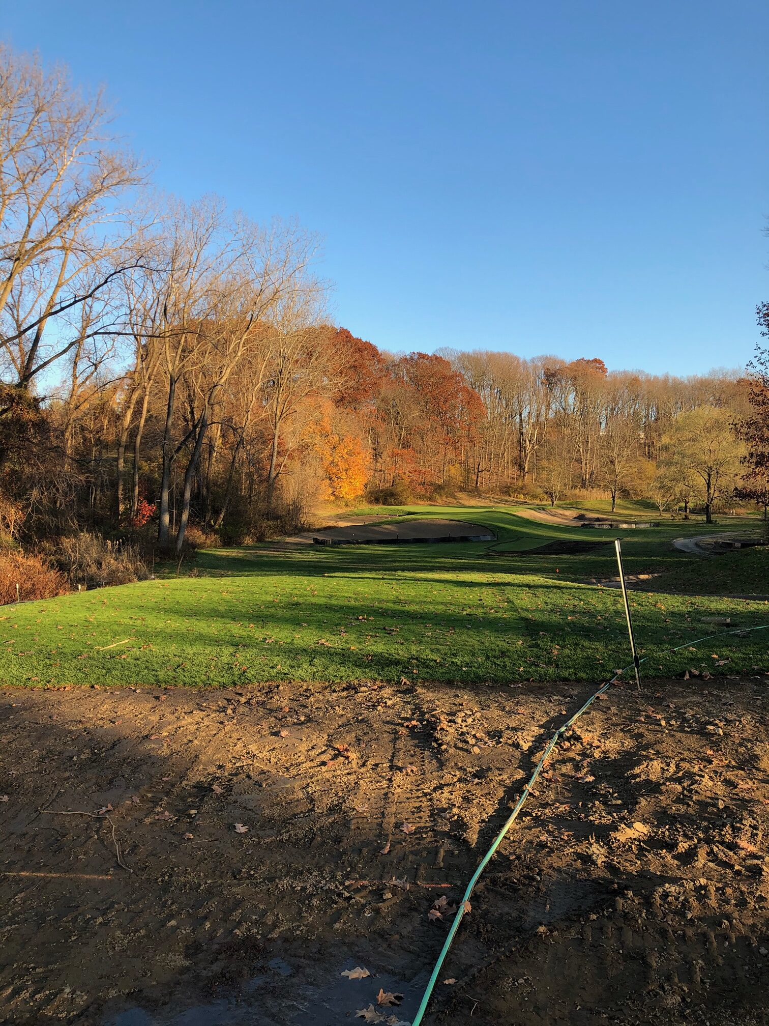 New greens and tee boxes, The Summit Club, Westchester County