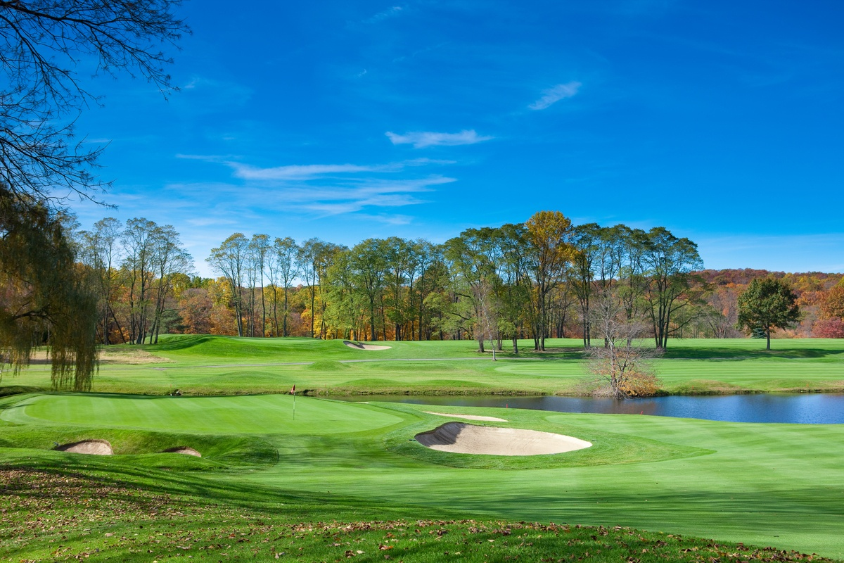 Hole 17 of the Summit Club, Armonk, New York