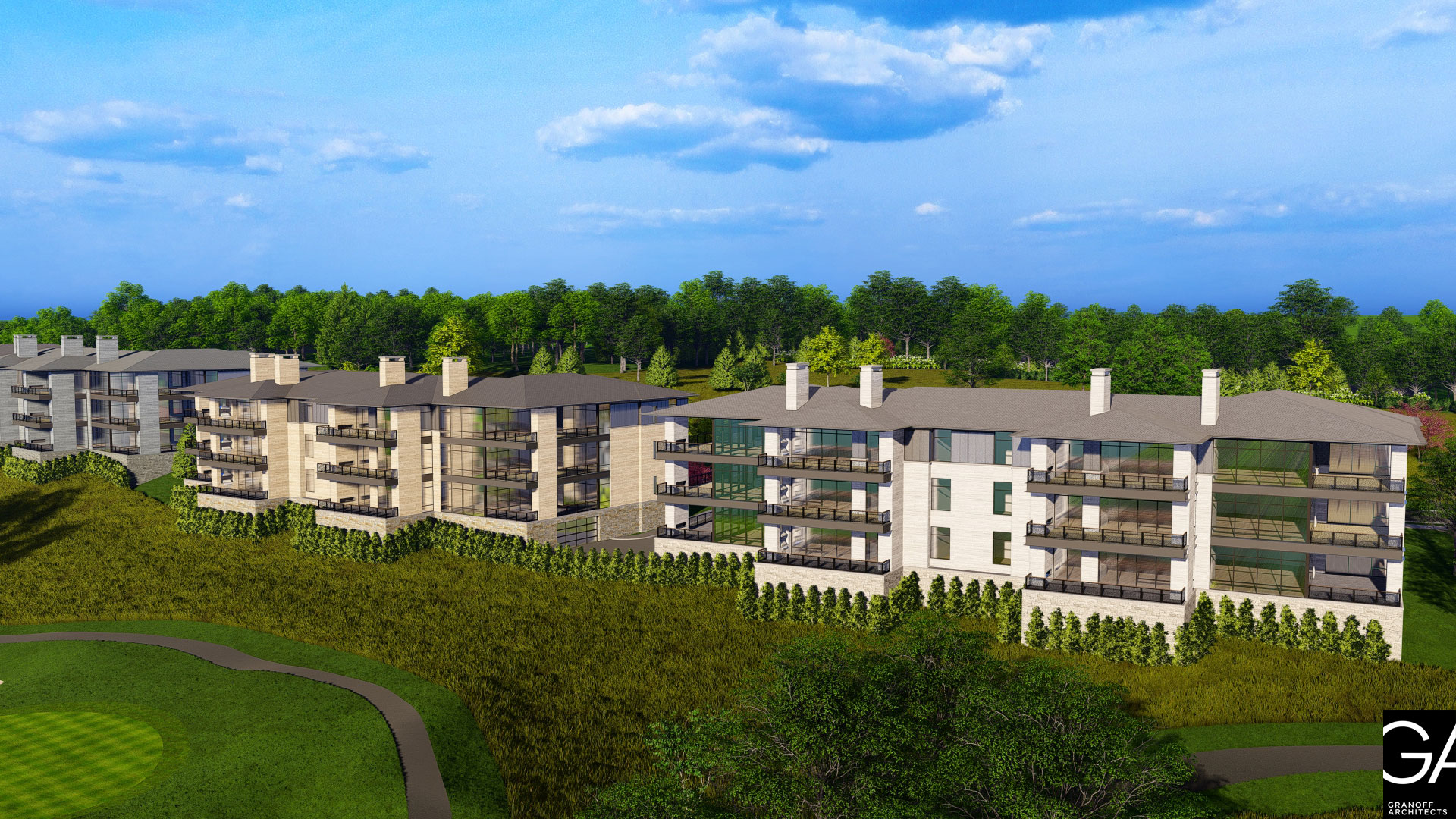New Residences at The Summit Club, Westchester County